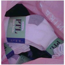 Q-Tex Mens Cotton Plain Ankle Socks