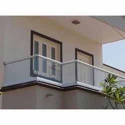Stainless Steel Silver SS Handrail
