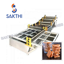 Chikki Sheeting & Cutting Machine