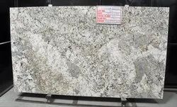 White Polished Granite Stone Slab, Thickness: 15-20 mm