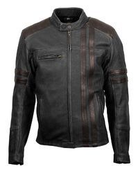 Blue.black And Red Women Leather Jackets