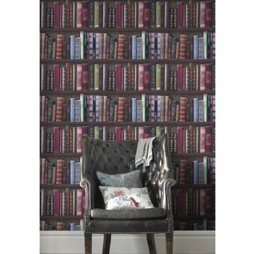 Book Effect Designer Wallpaper