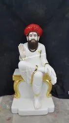 Marble Sevalal Maharaj Statue