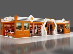 Exhibition Stall Vendors : Decoration octanorm exhibition stall rs square meter events