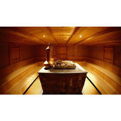Brown Sauna Spa, Size: 1500 x 1500 x 2400 mm