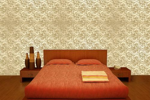 Golden Flower Pattern Hd Wallpaper