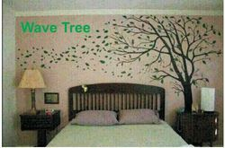 Big Stencils Wave Tree