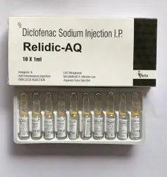 Relidic-AQ Diclofenac Sodium Injecion IP