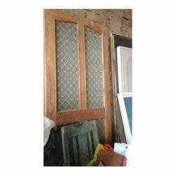 Wooden Panel Window.