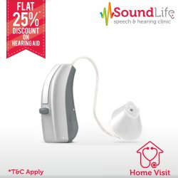 Widex Unique Fusion 440 RIC BTE Hearing Aid