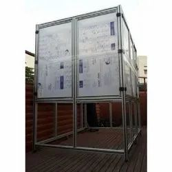 Powder Coated Machine Aluminum Frame