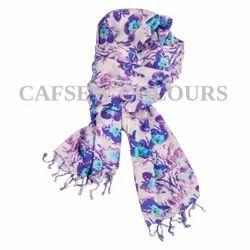 Printed Satin Scarves