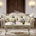 European Wooden Sofa Set