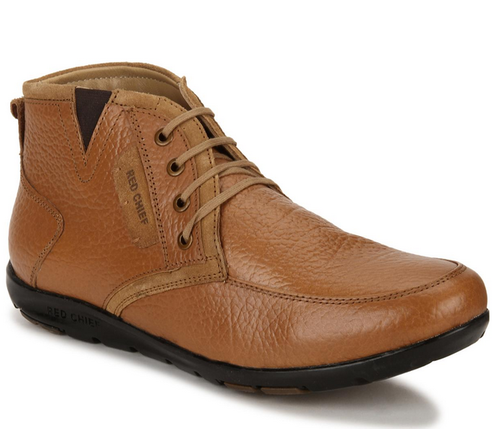 Rust Red Chief RC1368A Tan Mid Ankle