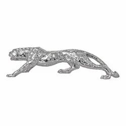 Silver Panther Statue