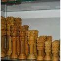 Wooden Ashok Pillar