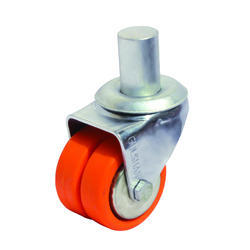 Double Puff Wheel Caster