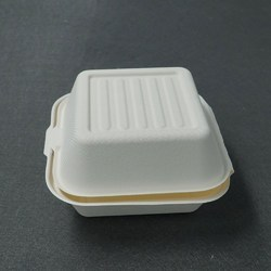 1000ml Bagasse Burger Container