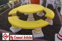 RCC Round Bench
