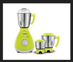 Neon Green And Silver Powerclick Neon Mixer Grinder
