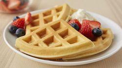 Belgian Waffle Premix Vanilla Flavor