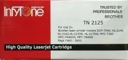 BROTHER TN 2125 (TN 2125) Compatible Black Toner Cartridge For Brother Printers