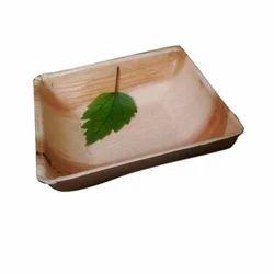 Areca Leaf Square Bowl