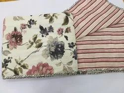 Floral Print Dohar for Double bed