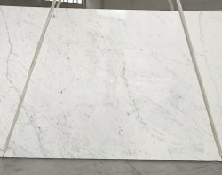 White Statuario Italian Marbles, Thickness: 20 mm