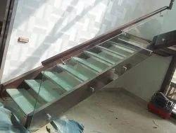 Stainless Steel Glass Railing in Delhi, स्टेनलेस स्टील ...