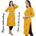 Embroidered Kurtis