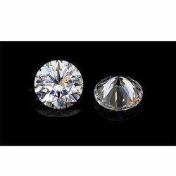 DEF  Round Cut Moissanite Diamond