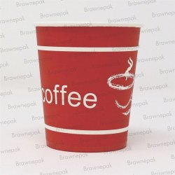 Disposable Paper Cup, Capacity: 210 mL