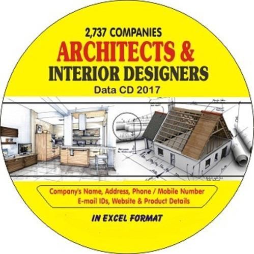 Architect Interior Designer Companies Data Cd Business Card Compact Disc ब जन स क र ड स ड Kk International Kolkata Id 17169437473