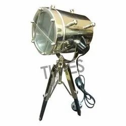 Times Creation Table Spot Lamps, Base Type: Wood & Brass, Model: TCIL-8294