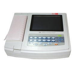 S Cure 3-Channel ECG Machine, Digital, Number Of Channels: 3 Channels