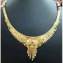 Fancy Golden Necklace