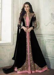Jacket Style Georgette Anarkali Suits