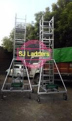 SJ 11 Aluminium Scaffolding Ladder