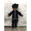 Boy, Girl Black Bear Dress