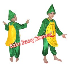 26f04835b5b6a4 Fruits And Vegetables Costumes - Kids Banana Costume Manufacturer ...