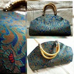 Printed Ladies Stylish Handle Bag