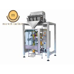 Collar Type 4 Head Linear Weigh Filler Packing Machine
