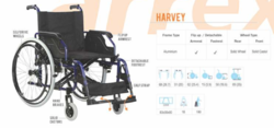 Harvey Heavy Duty Wheelchairs