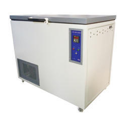 Stainless Steel Horizontal Deep Freezer, 220/230v Ac