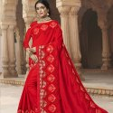 Exclusive Embroidery Work Saree