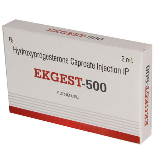 Hydroxyprogesterone Caproate Injection IP, Packaging Type: Dispo Pack,  Packaging Size: 2 Ml, Rs 189 /vial | ID: 18027295655