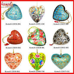 X-Mas Decorative Hangings Heart Christmas Ornaments Handmade