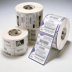 Printed Barcode Label