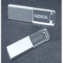 Plastic Customized Crystal USB Pendrive